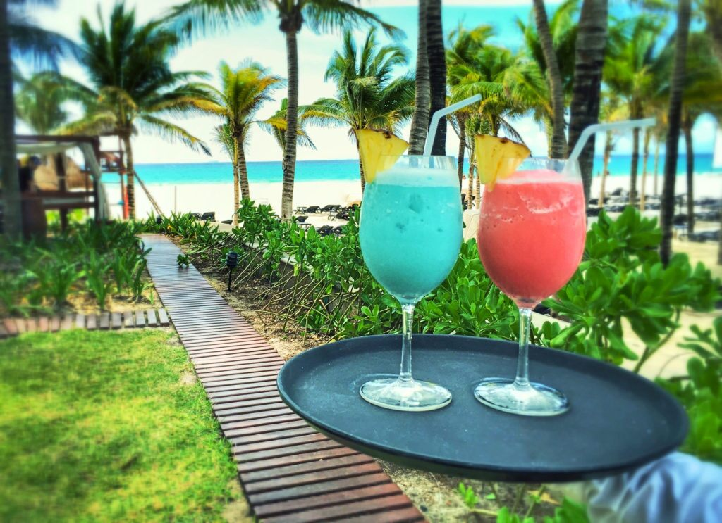 Tropical cocktails and Mexican cuisine's best dishes. A luxury culinary tourist experience in the Mexican Caribbean, Riviera Maya.