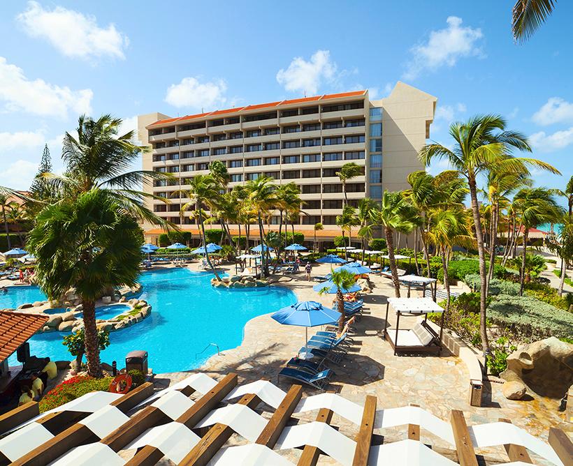 Resorts tudo incluído no Caribe em Aruba