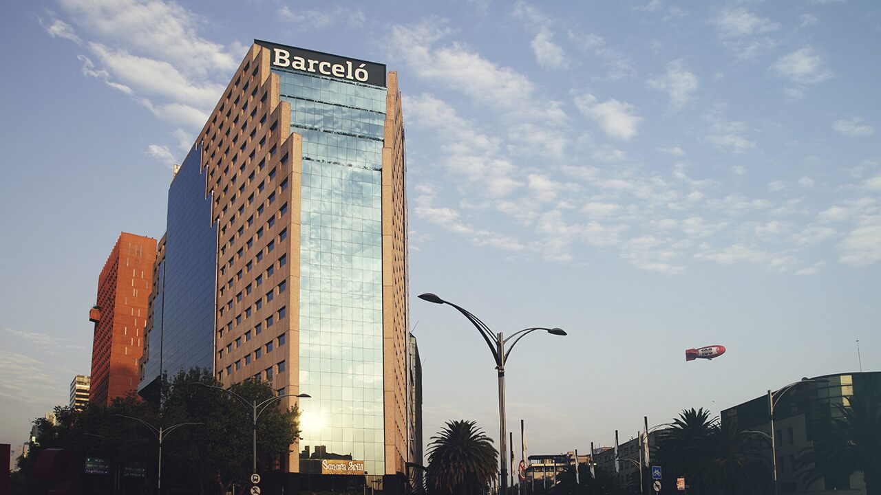 Best hotels in Mexico City: city hotel Barceló México Reforma