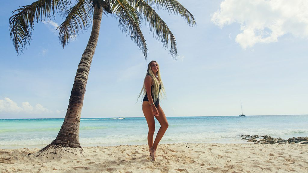 Pergunte à Lauren Beeston pelas melhores praias de Punta Cana, ela conhece todas elas!