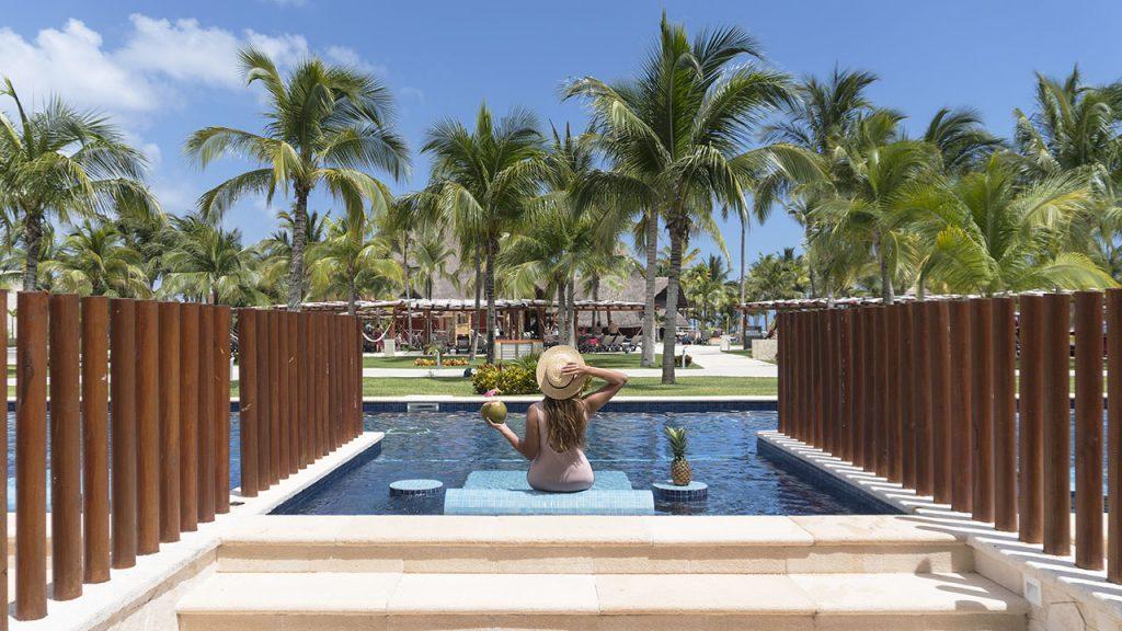 Uma blogger especialista em descobrir os melhores hotéis em Riviera Maya: veja onde se hospeda María