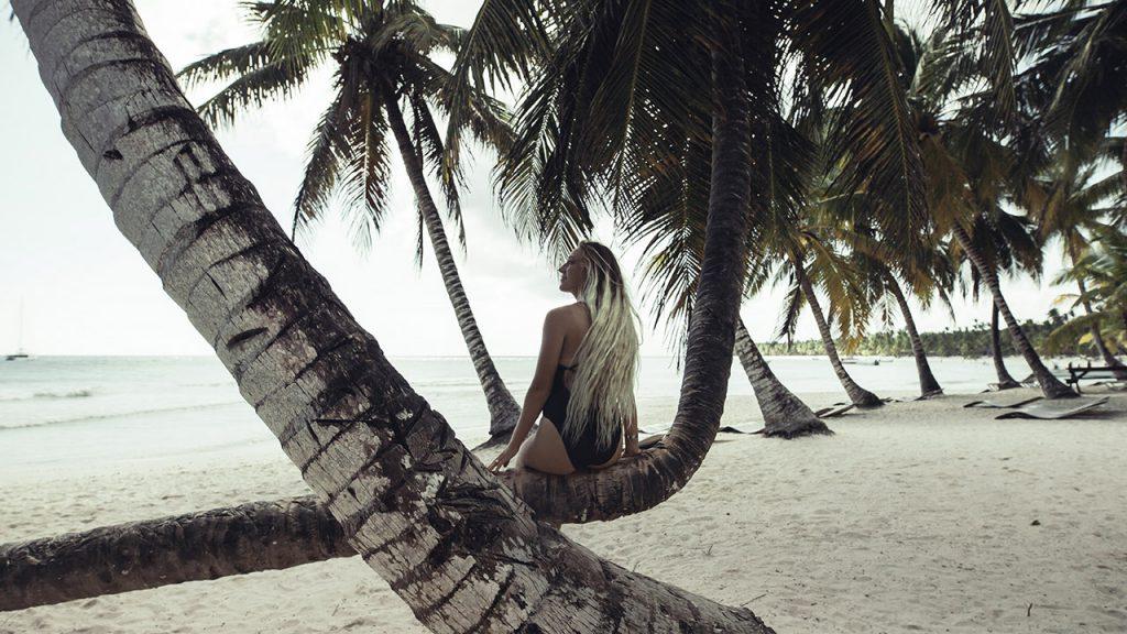 El Cortecito, a melhor praia de Punta Cana, imortalizada por @lobeeston na República Dominicana.