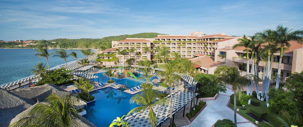 Férias con crianças no México em um dos melhores hotéis para famílias: Hotel Barceló Huatulco