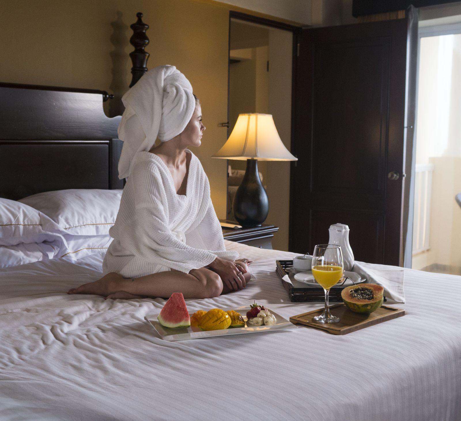 O melhor room service de Punta Cana está no Occidental Caribe.