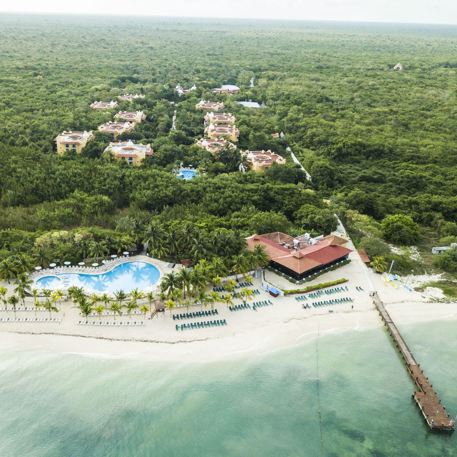 Vacaciones con todo incluido en el Caribe en la isla de Cozumel