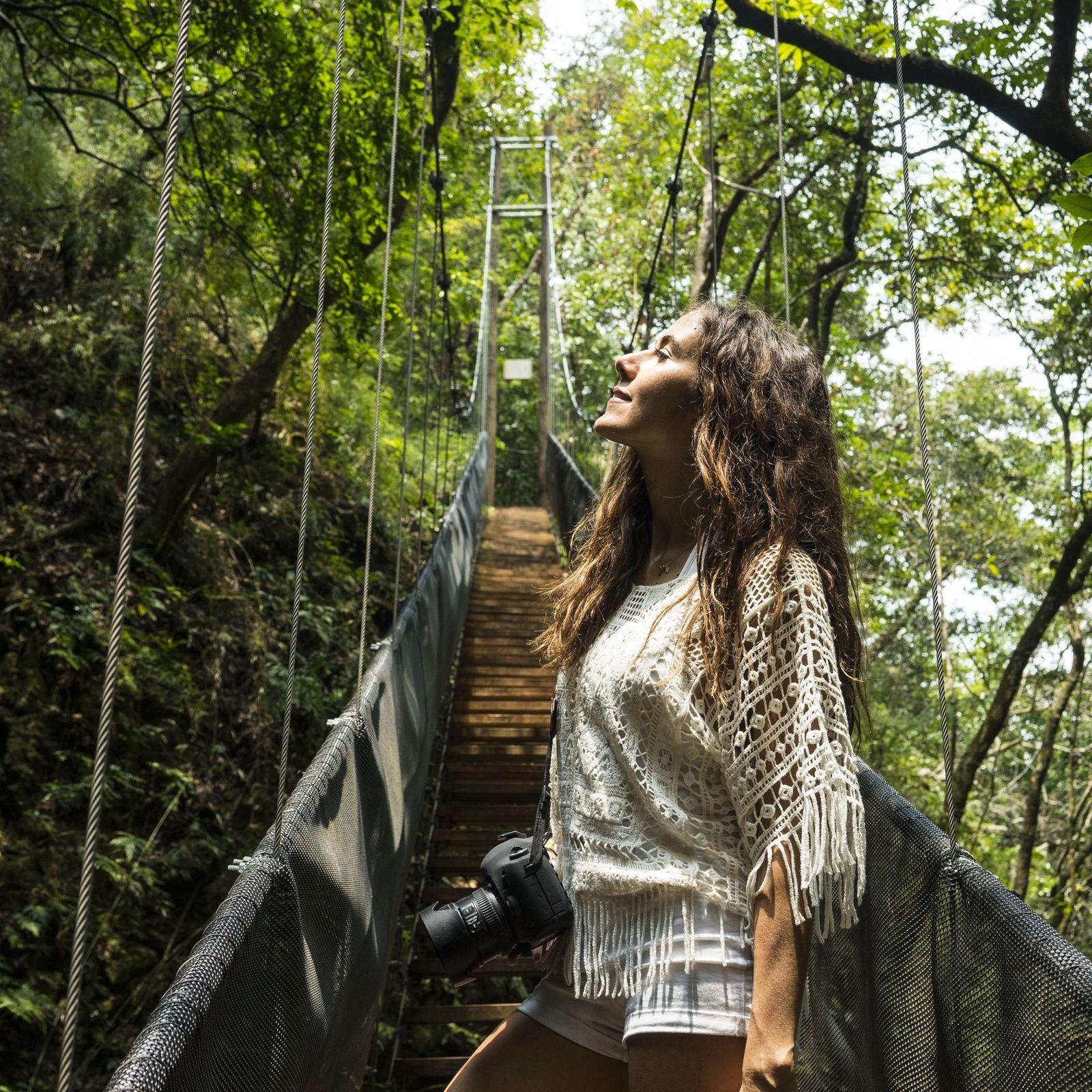 A excursão para descobrir a selva da Costa Rica foi a preferida de Courtney Scott. Descubra-a!