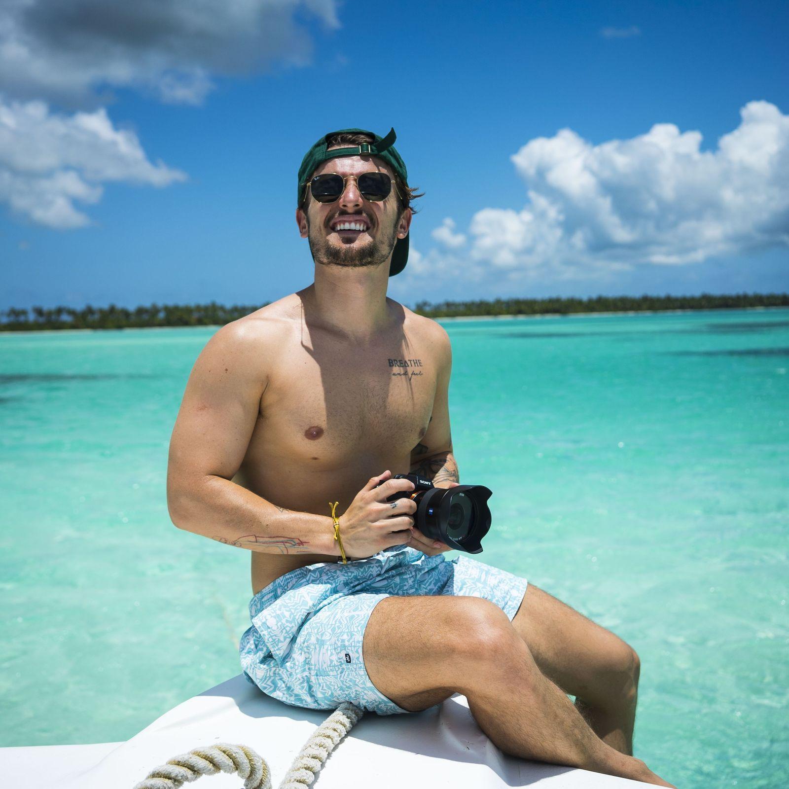Visita isla Saona en República Dominicana como Vitor Liberato