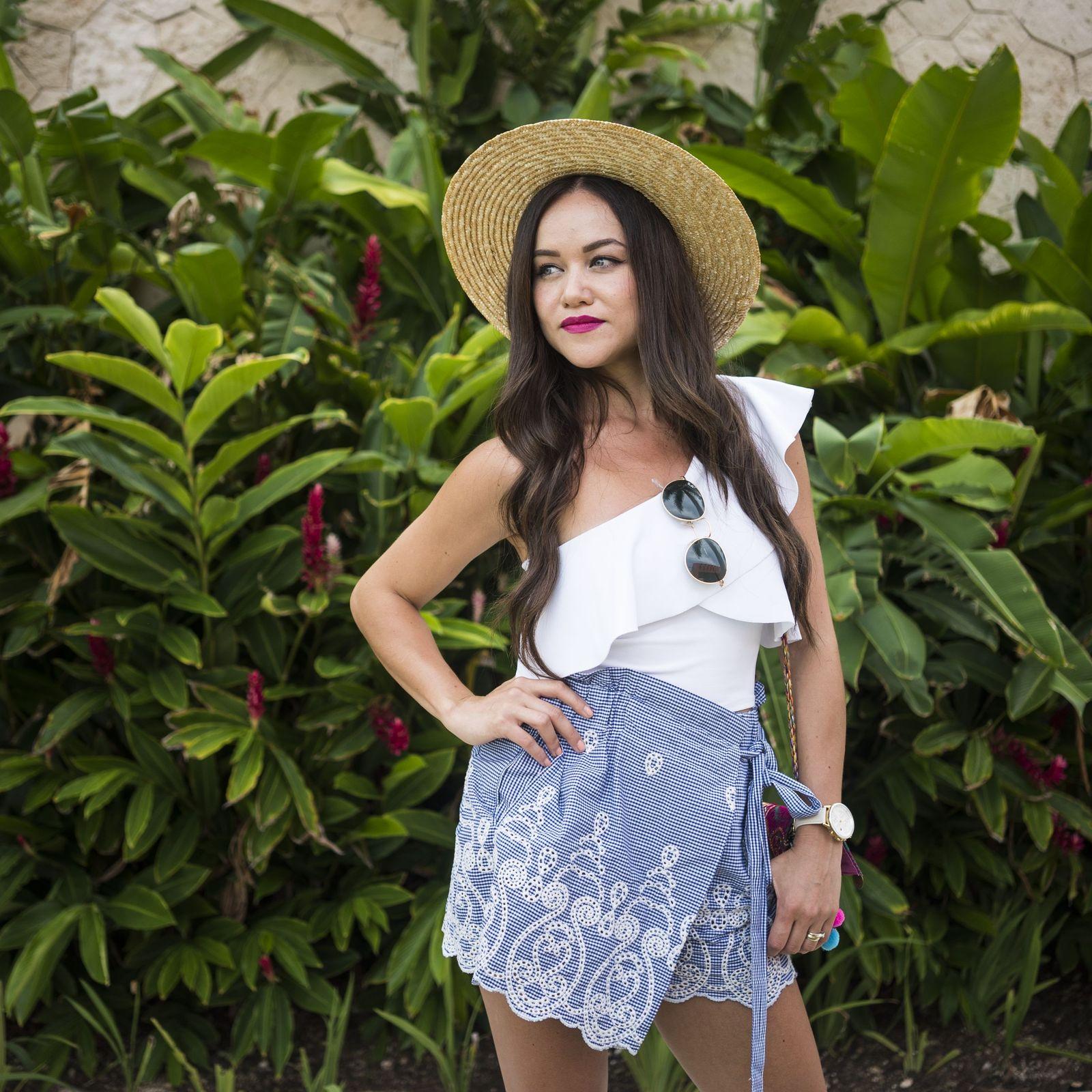 Blogger mexicana Moda Capital en Barceló Maya