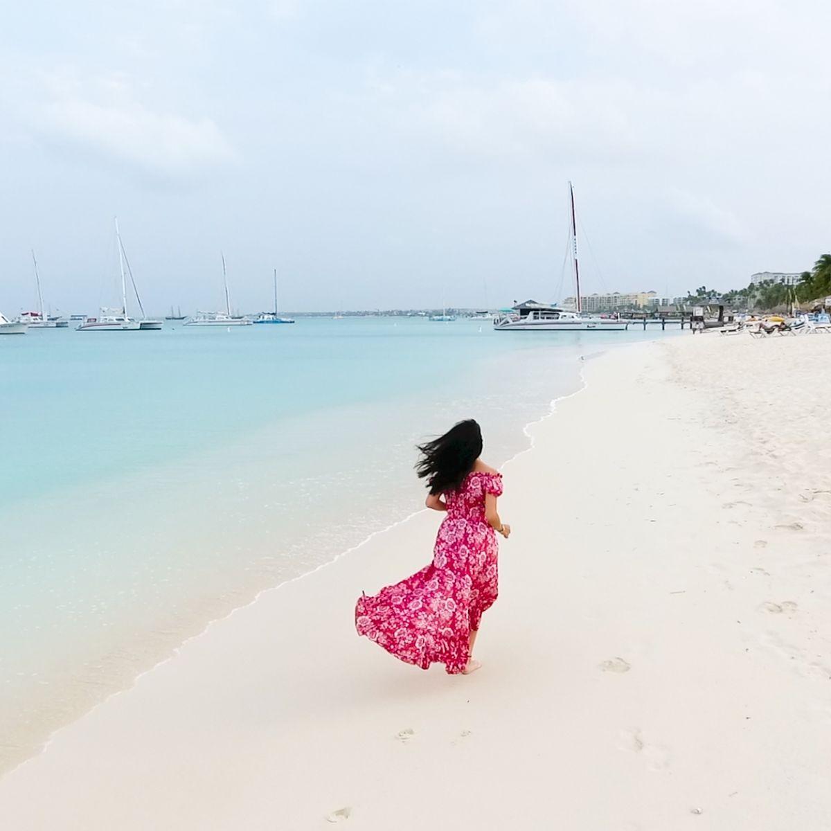 Palm Beach mejor playa de Aruba para vacaciones