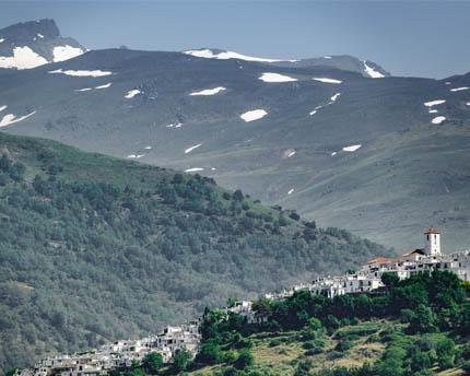 Tre percorsi classici di trekking sull'Alpujarra granadina
