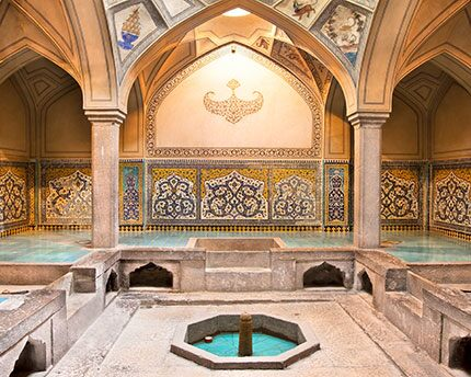 Arabische Bäder in Granada