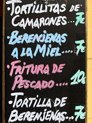Tapas en Almería