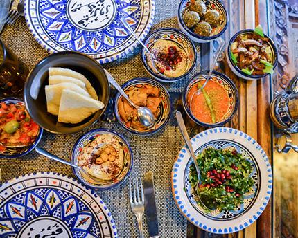 Los mejores sitios para comer en el Albaicín