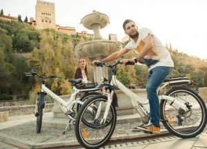Ruta Bici eléctrica por Granada