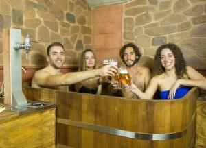 Spa de cerveza en Granada