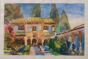 Taller pintura Granada. La Alhambra