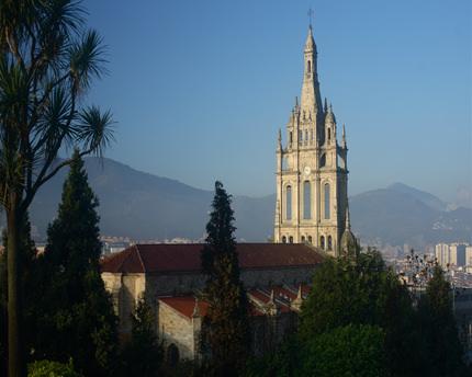 """La basilica di Nuestra Señora de Begoña: l'incredibile storia del santuario di """"amatxu"""""""
