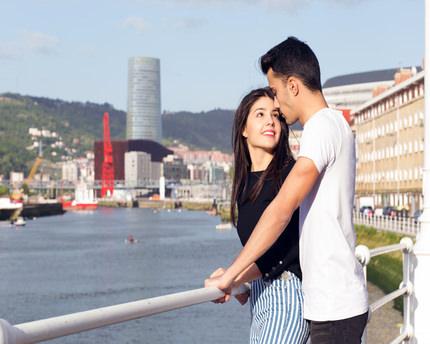 Planes románticos en Bilbao. Por tierra, mar y aire