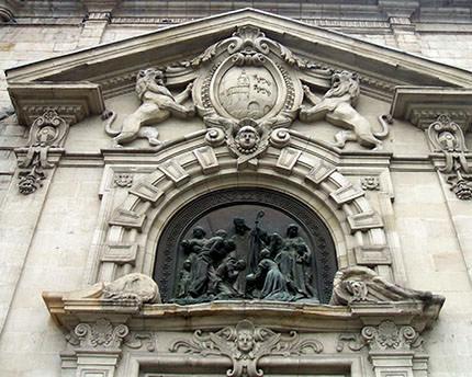 iglesia de san nicolas bilbao