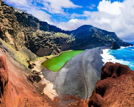 El Golfo: a cinematic green lake in Lanzarote