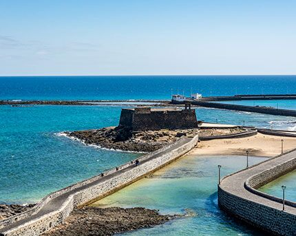 The Castillo de San Gabriel, a tribute to the history of Arrecife