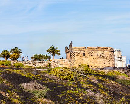 The Castillo de San José, from 'Hunger Fortress' to museum of contemporary art