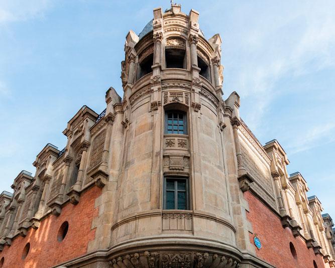 Das Centro Azkuna, eine spektakuläre Triebfeder des Kulturlebens in Bilbao