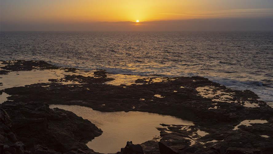 Puesta de sol Charcones, Lanzarote