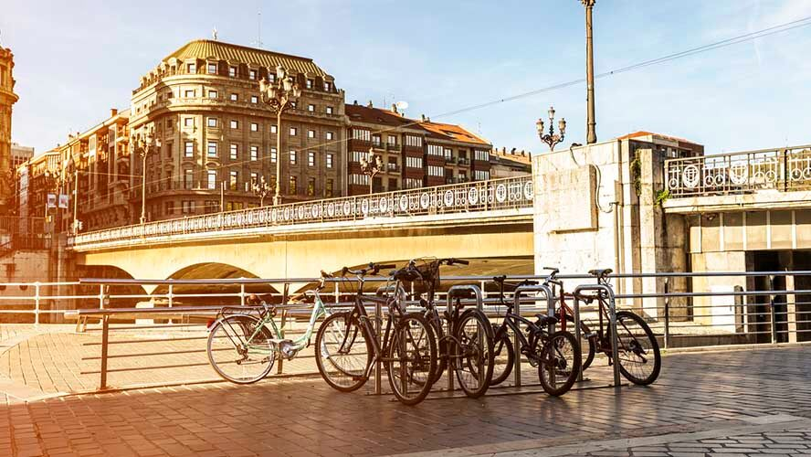 Bilbao en bici