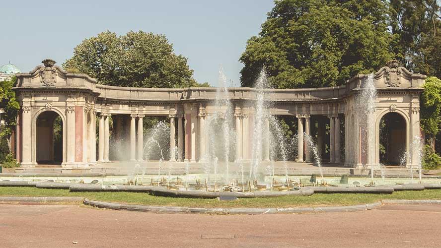 Fuente en el Parque de Doña Casilda
