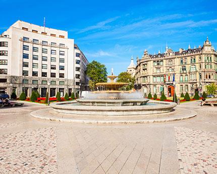 La Plaza de Moyúa, el mejor lugar para quedar en Bilbao