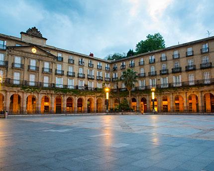 Bilbao's Plaza Nueva