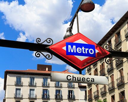 Chueca: Madrid's LGTBI district