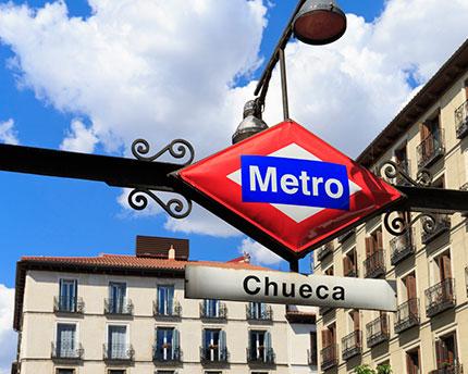 Chueca, el barrio LGTBI de Madrid