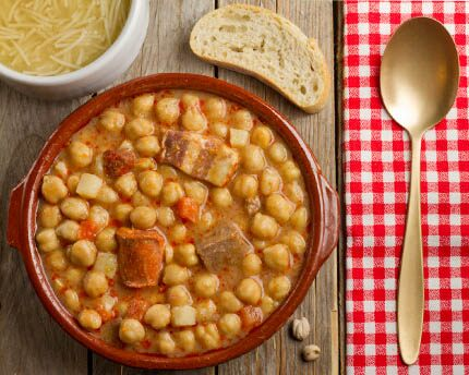 Comida típica madrileña