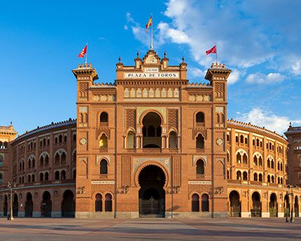 The Las Ventas bullring: a spectacular monument in the Neo-Mudejar-style