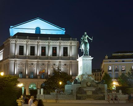 The Teatro Real de Madrid: a perfect setting in which to experience the thrill of opera