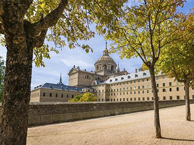 Vistas de la basílica del Escorial