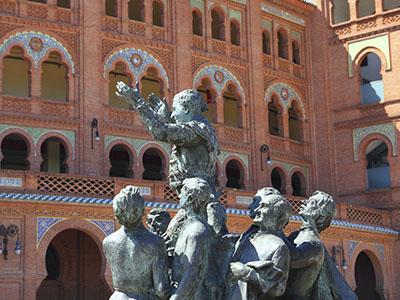 Estatua de Antonio Bienvenida en Las Ventas