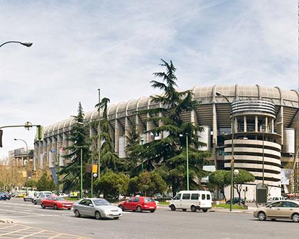 Estadio Santiago Bernabéu, el prestigioso coliseo blanco