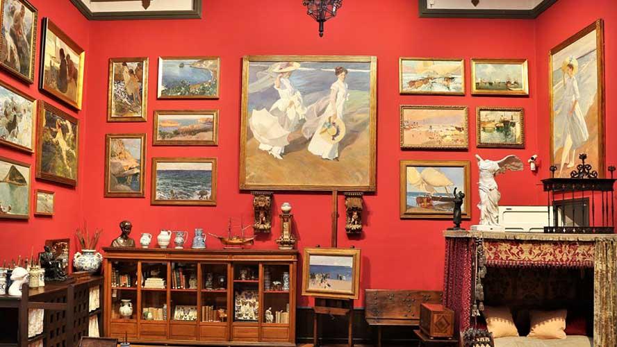Sala principal del Museo Sorolla