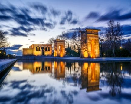 The Templo of Debod, a treasure of Ancient Egypt in the heart of Madrid
