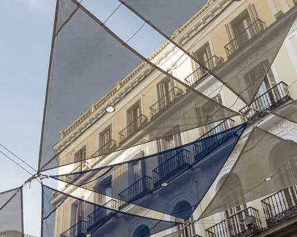 Calle Preciados, la principal vía comercial de Madrid