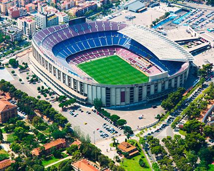 Camp Nou, el templo blaugrana