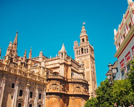 Seville Cathedral, the largest Gothic church in the world
