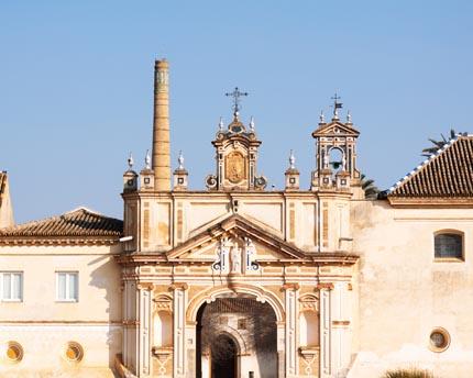 El monasterio de la Cartuja de Sevilla, un cenobio reconvertido en centro de arte contemporáneo