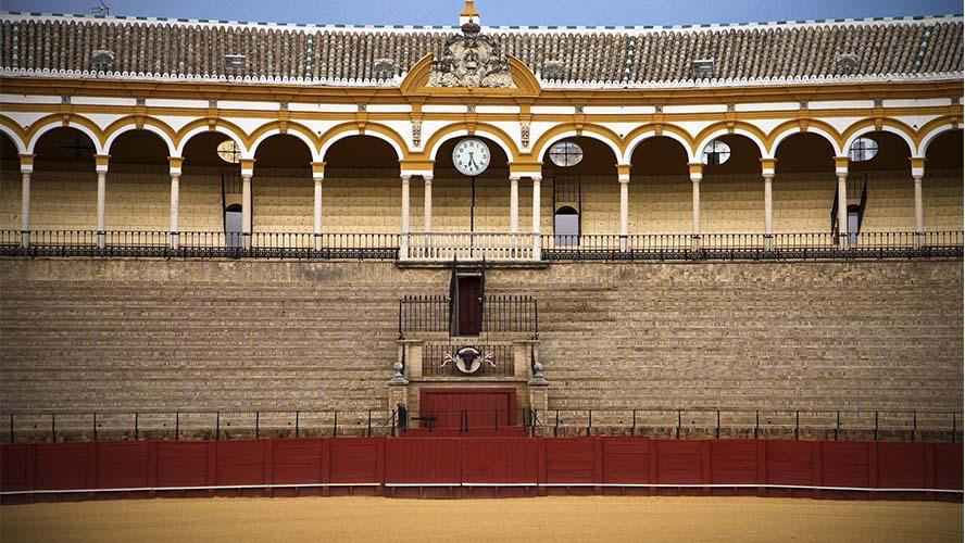 Interior de la Maestranza de Sevilla