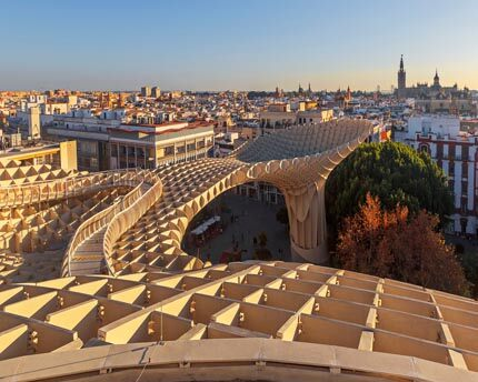 "The Metropol Parasol, Seville's controversial ""Wild Mushrooms"""