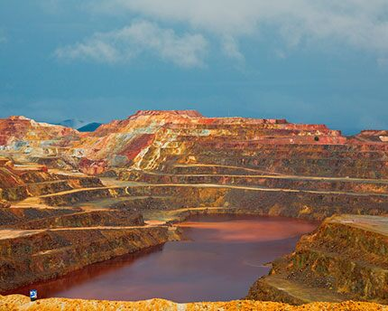 The Riotinto Mines, a Martian landscape in Huelva