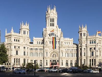 El ayuntamiento de Madrid celebra el Orgullo